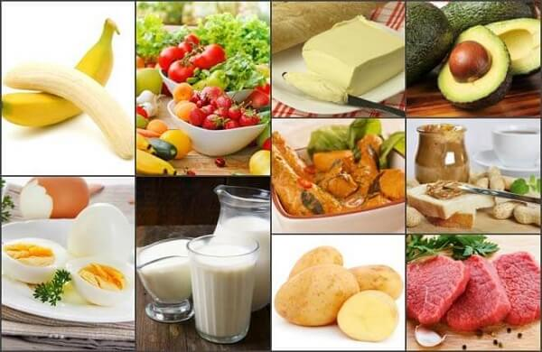 Những thực phẩm hỗ trợ bổ sung tăng cân hiệu quả